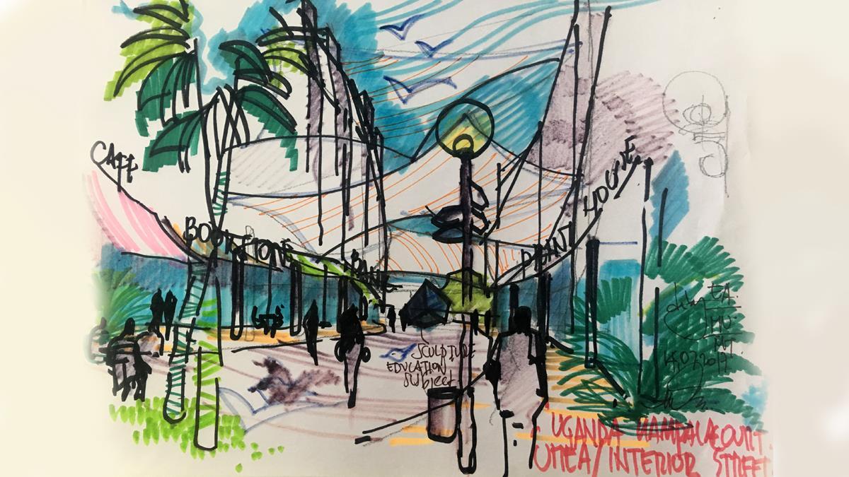 Uganda UMEA Ticari ve Rezidans Kompleksi