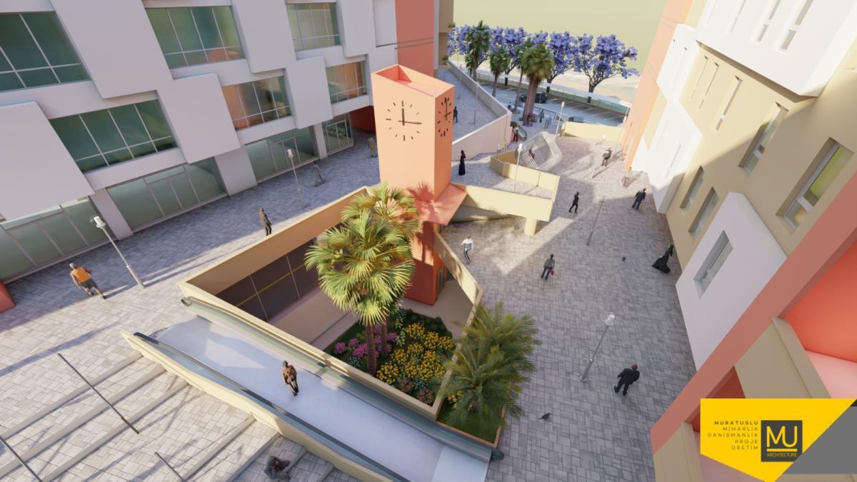 2020 Uganda Kampala Ticari ve Rezidans Kompleksi